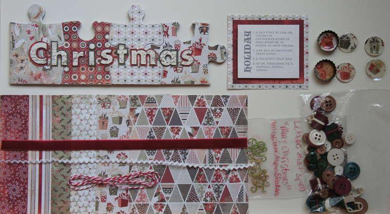 Holiday Kit Swap-Christmas Celebration Group B