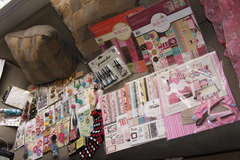 Valentine Secret Sister Package from KIMBERLY PINK!!!!!