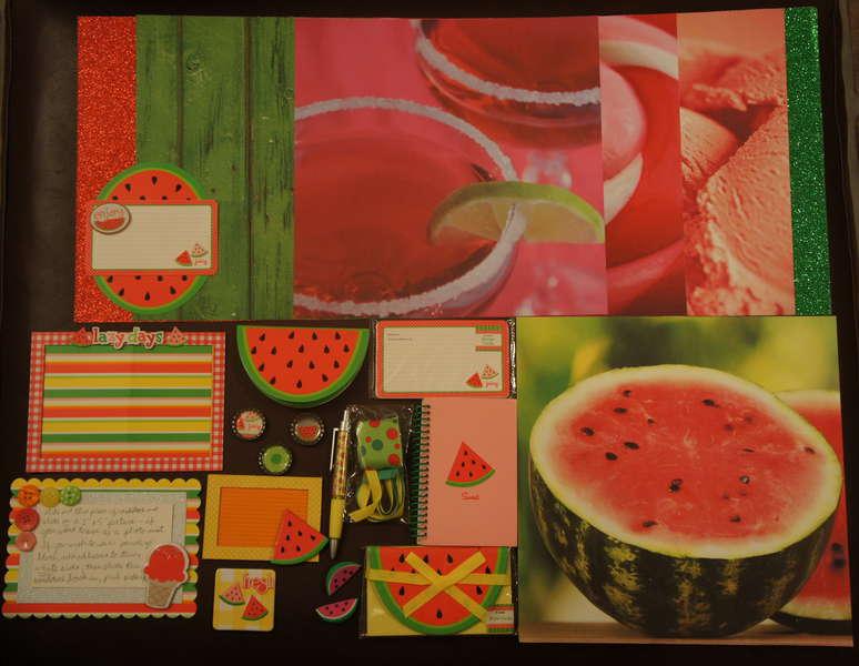 Watermelon Kit (July Kit Swap)