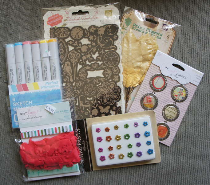 Secret Sister Swap Package for July