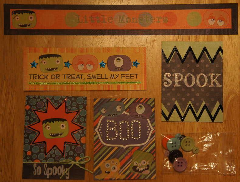 Little Monster Halloween Kit Extras