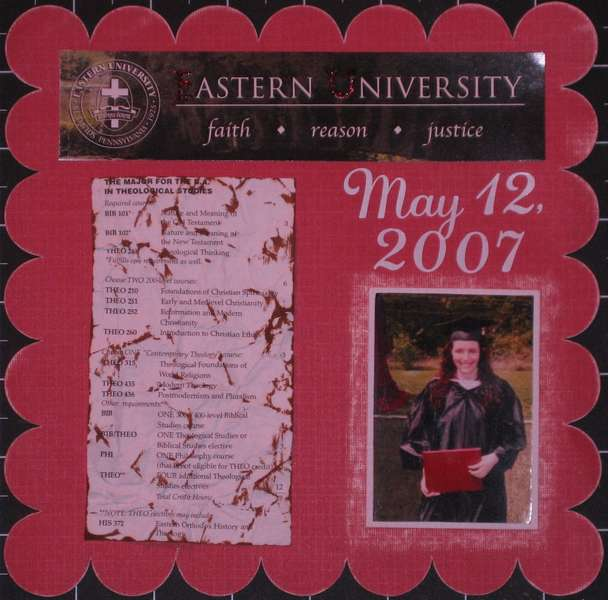 Eastern University Graduation