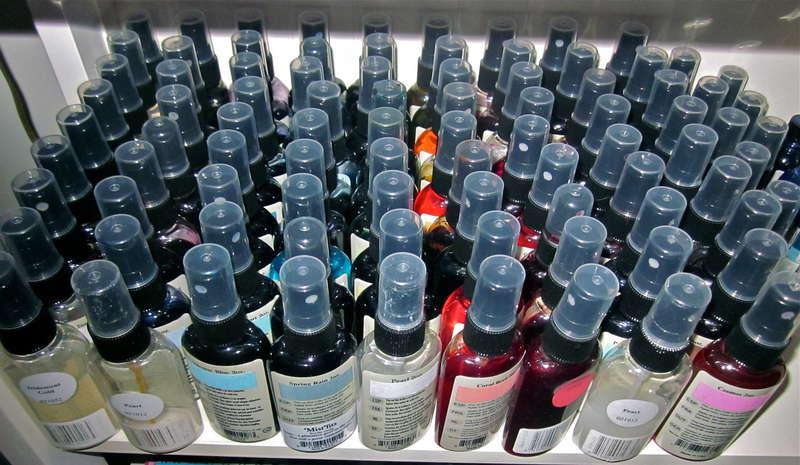Glimmer Mist Shelf (72 bottles)