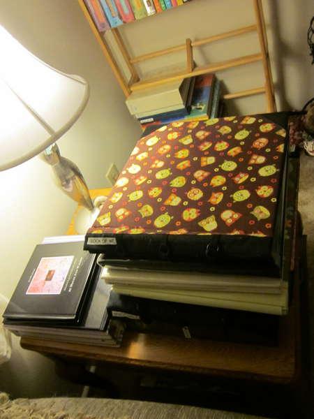 In Process Scrapbook Storage/Cleanup