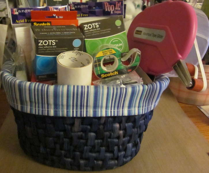 AFTER: My Adhesives Basket