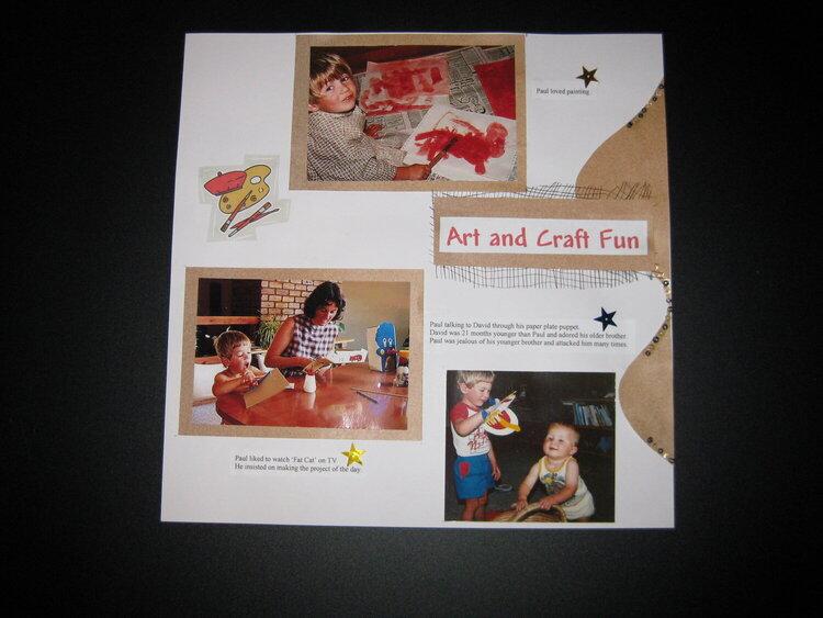 Art and Craft Fun