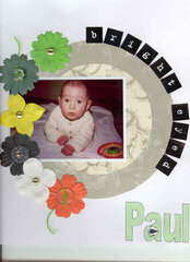 My darling first-born