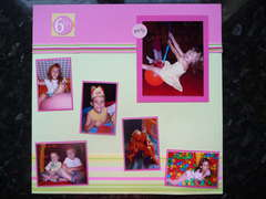 Ellie's 6th birthday page 1