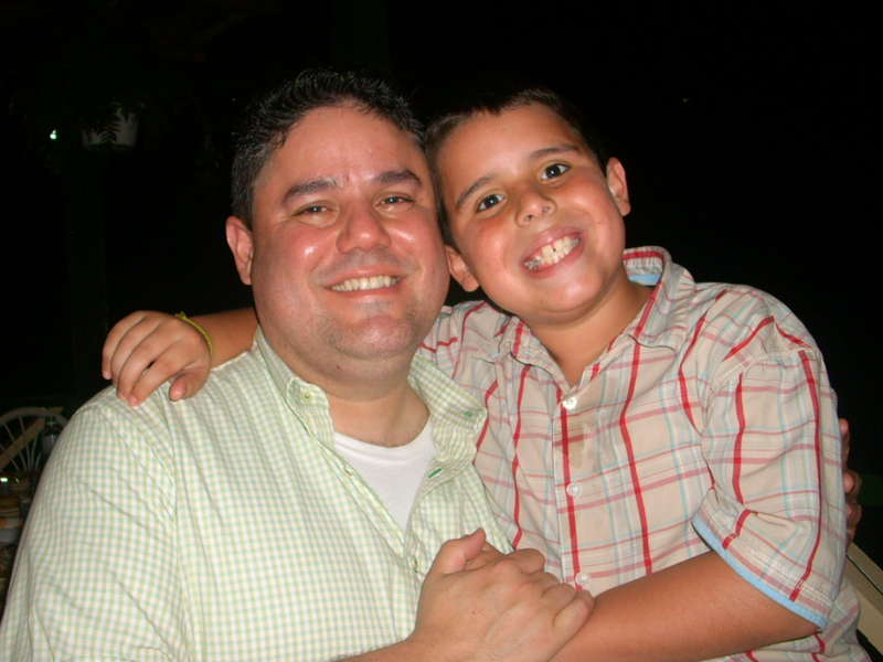 MY DADDY AND MY BRO
