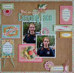 Put on Your Camping Face by Guiseppa Gubler