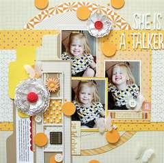 She Is A Talker