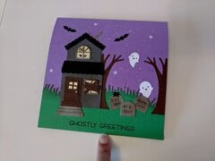 Haunted House and Graveyard