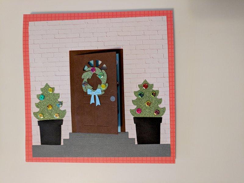 Santa Got Busted - Door Closed