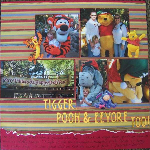 Tigger, Pooh & Eeyore, Too!