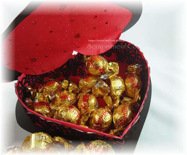 Heart Gift Box Tutorial