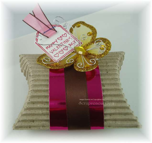 Valentine Pillow Gift Box