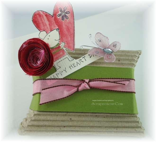 Valentine Pillow Gift Box