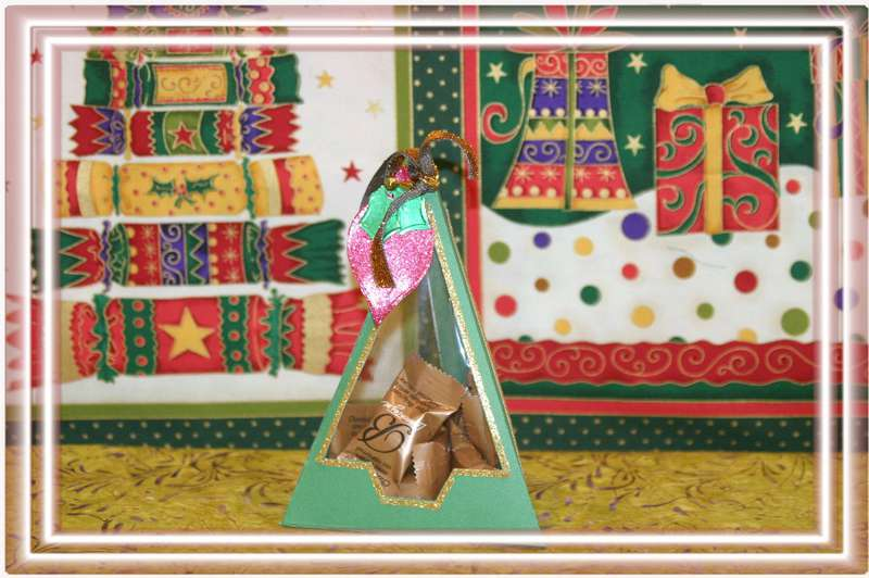 Triangular Christmas Gift Box