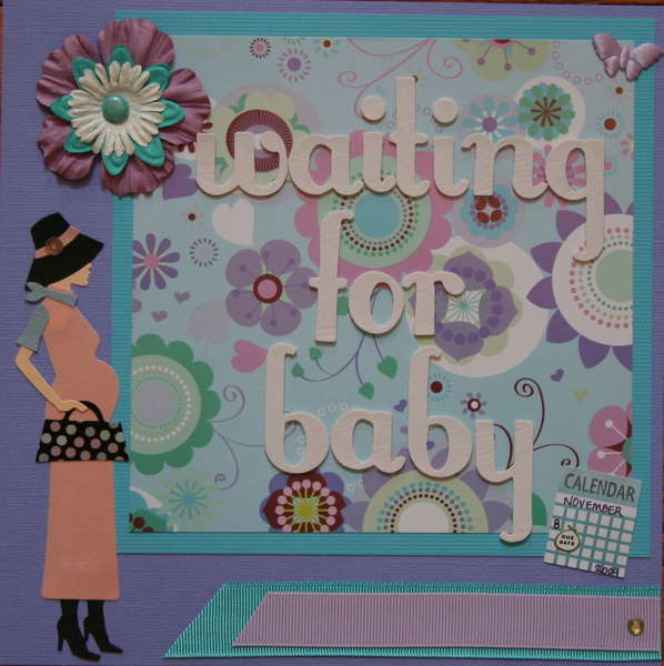 Pregnancy Album - Title Page - Waiting for Baby
