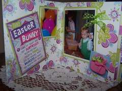 Bo Bunny Easter Board Book Album