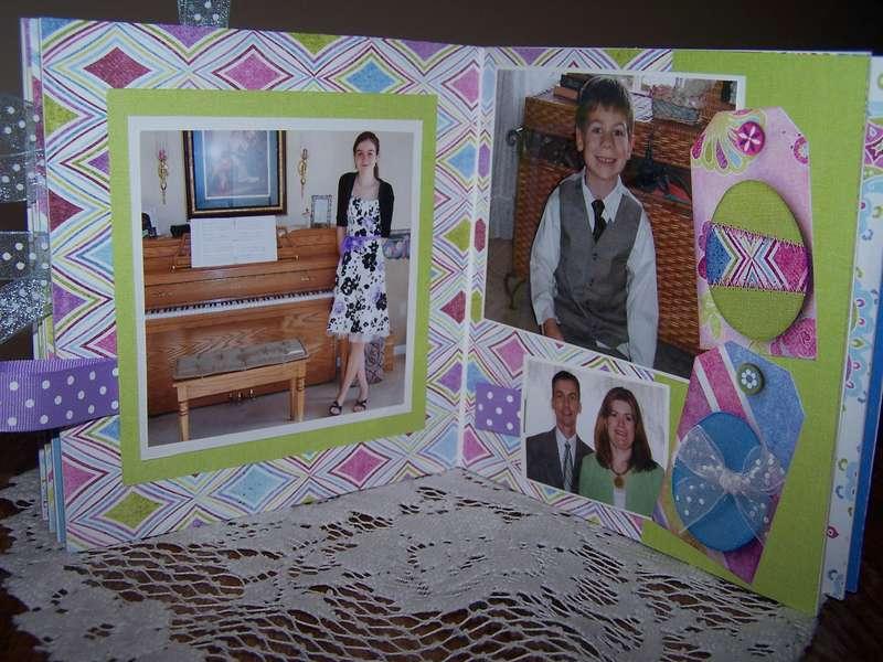 Bo Bunny Easter Board Book Album