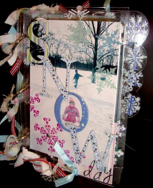 SNOW acrylic album