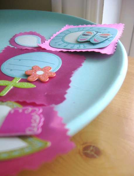 Silk and Flowers Embellishments
