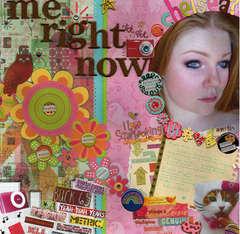 Me Right Now - Scrap N Art May/June 2008