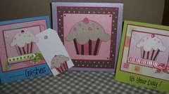 Cupcake Birthday Box Set