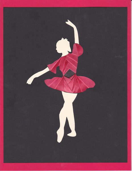 Iris folded dancer