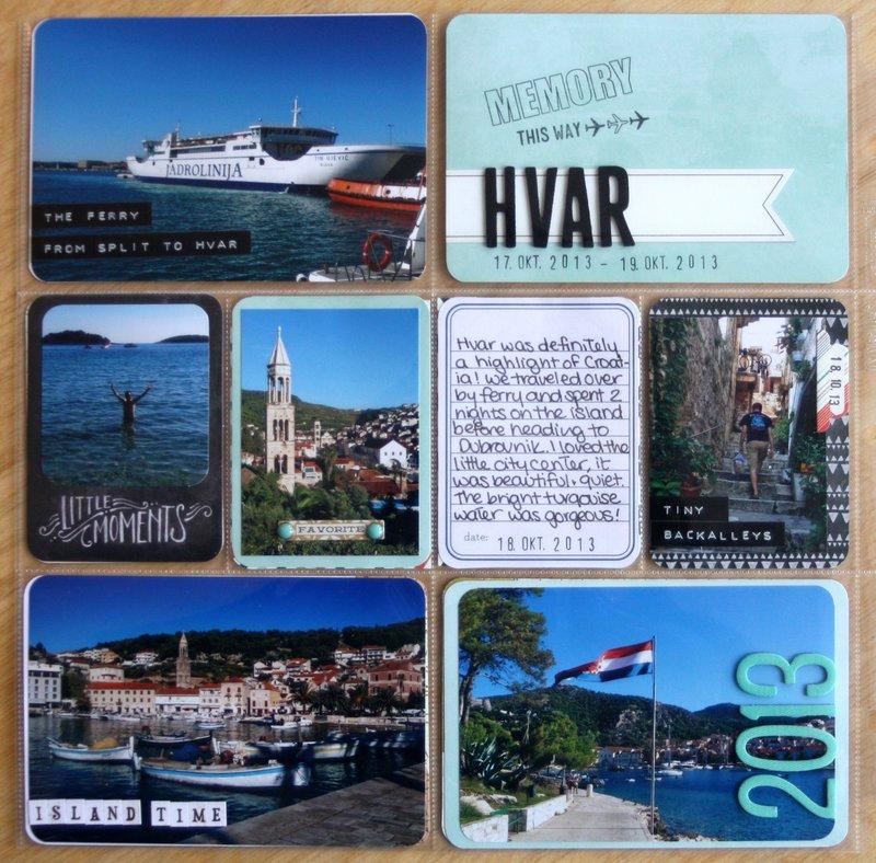 Hvar, Croatia - Project Life