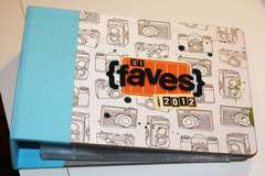 My Faves 2012 Album - American Crafts 6x6 - Customized