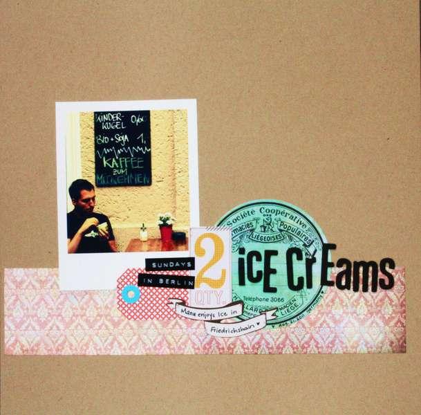 2 Ice Creams