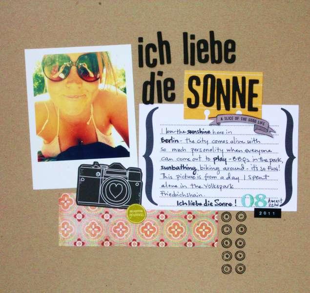 Ich Liebe the Sonne (I Love the Sun)