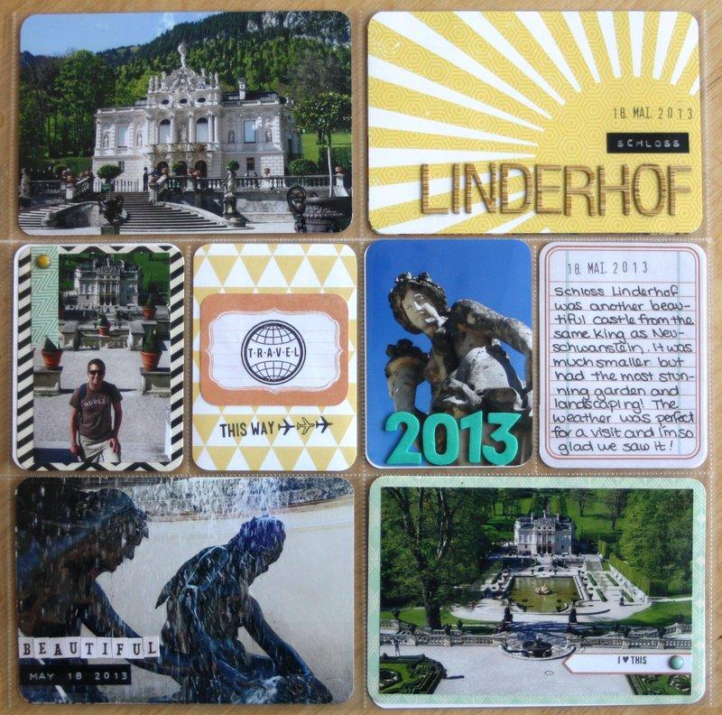 Linderhof - Alps Roadtrip - Project Life