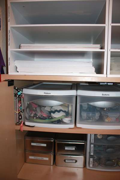 Scrap Closet - Dec AGC Clean & Organize
