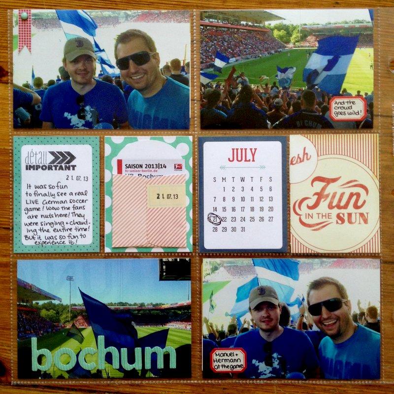 Bochum Soccer Game