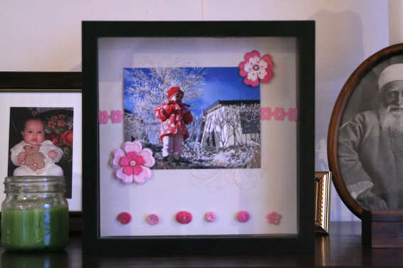 Framed scrapbooking