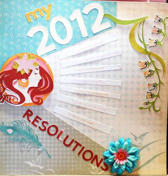 My 2012 Resolutions
