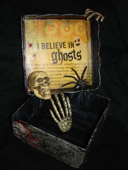 I Believe in Ghosts: Inside