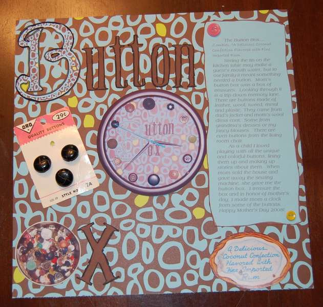 The Button Box (right page)