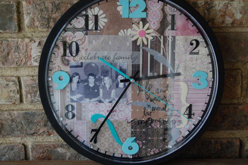 Heidi Swapp Family Clock