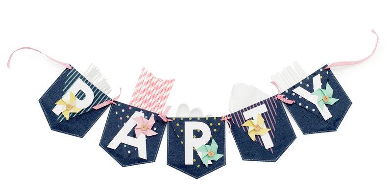 *We R* Party Pocket Banner