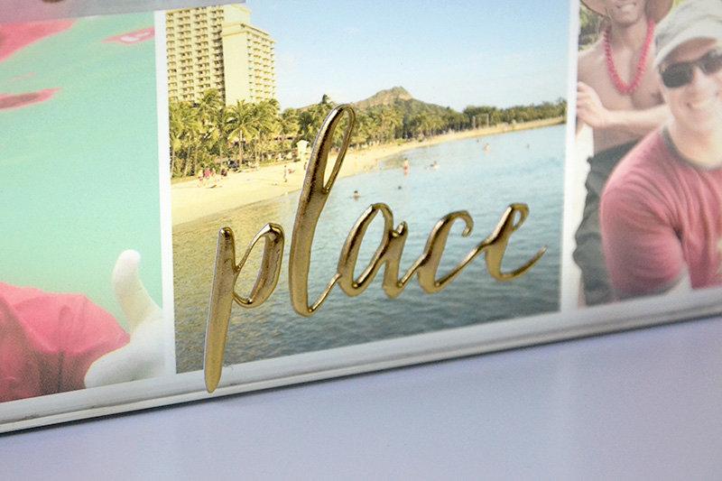 Beach Light Box Photo Collage *We R*