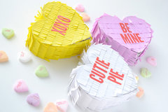 *We R* Conversation Heart Mini Piñatas