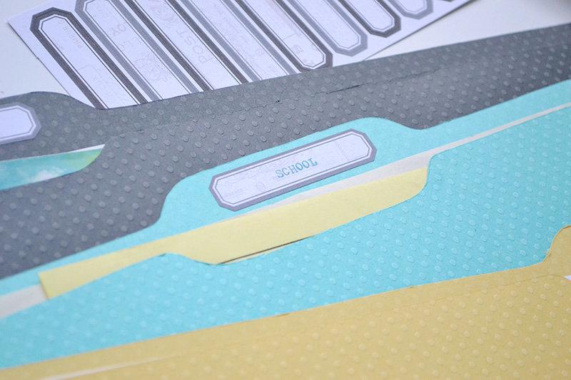 DIY Memorabilia File Folders