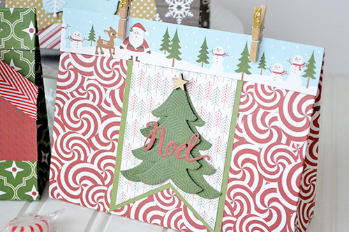 *Echo Park* DIY Holiday Treat Bags