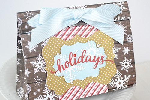 *Echo Park* DIY Holiday Treat Bags
