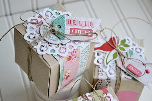 *Echo Park* Doily Gift Boxes