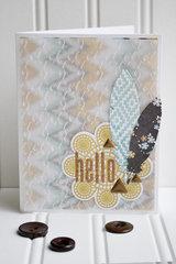 Embossed Vellum Cards